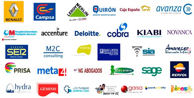 Empresas colaboradoras FCT