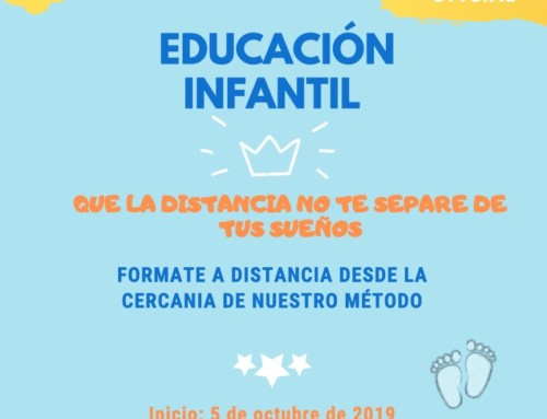 MATRÍCULA C.F.G.S. EDUCACIÓN INFANTIL – ONLINE